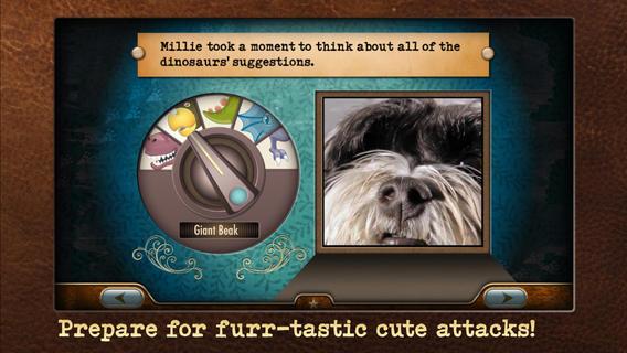 Millie's adventure screenshot
