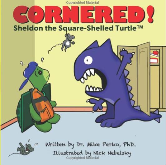 """Cornered"" book cover"