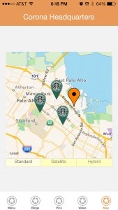 Sample Business App - Maps