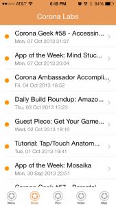 Corona Business App - Blog