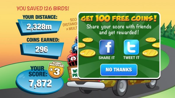 City Birds High Score