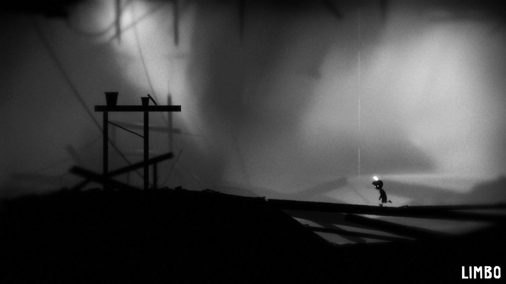 Screen shot from Limbo